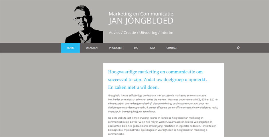Jan Jongbloed Marketing & Communicatie